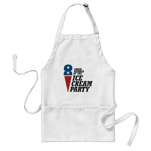 Member of the Ice Cream Party.png Adult Apron