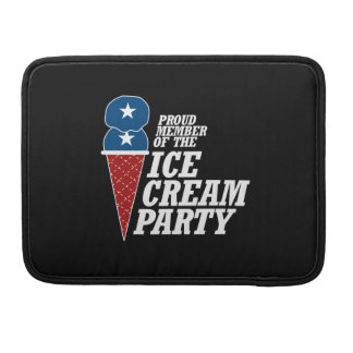 Member of the Ice Cream Party -.png Sleeves For MacBooks