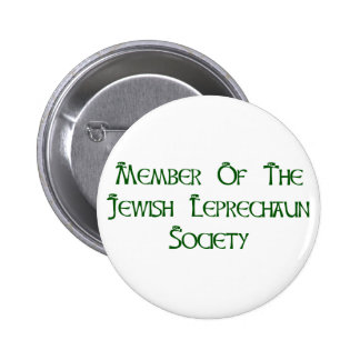 Member Of The Jewish Leprechaun Society Button
