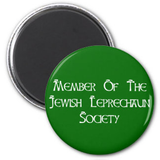Member Of The Jewish Leprechaun Society Magnet