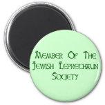 Member Of The Jewish Leprechaun Society Refrigerator Magnets