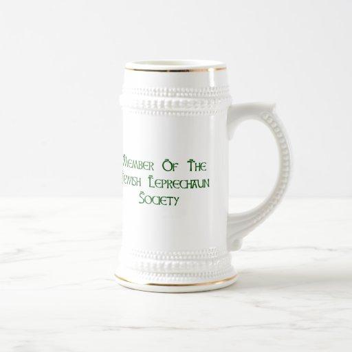 Member Of The Jewish Leprechaun Society Mug