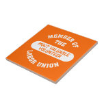 Member of the most valuable volunteer labor union ceramic tile