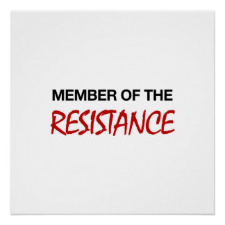 Member of the Resistance Poster