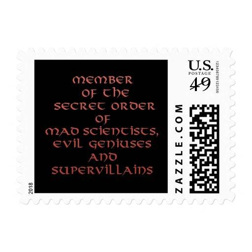 Member of the Secret Order stamps