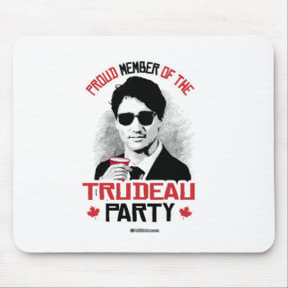 Member of the Trudeau Party -.png Mouse Pad