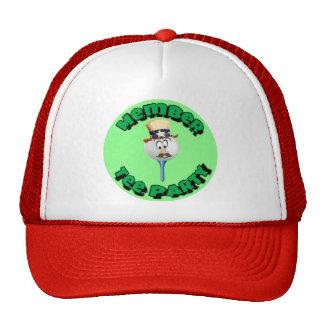 """Member, Tee Party"" caps, cups/mugs/water bottles Trucker Hat"