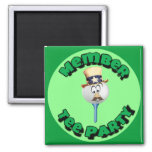 """Member, Tee Party"" - Stickers, Buttons & Magnets Magnets"
