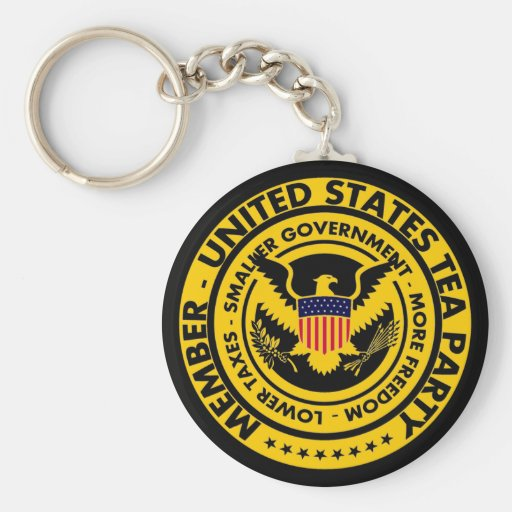 Member: United States Tea Party Key Chains