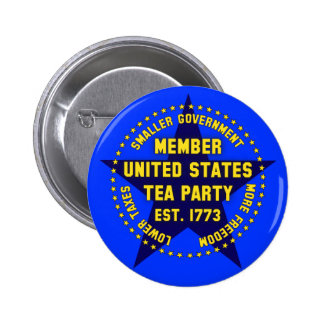 Member United States Tea Party Pins