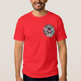 Member United States Tea Party Seal T-shirts