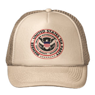 Member: United States Tea Party Trucker Hat