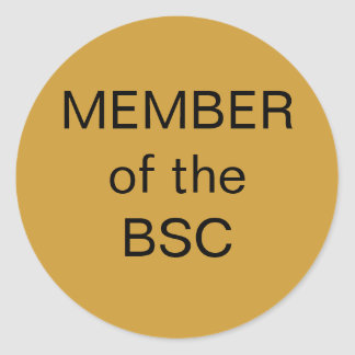 MEMBERof the BSC Stickers