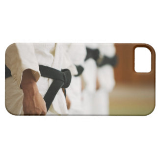 Members of a Judo Dojo Lined Up iPhone 5 Case