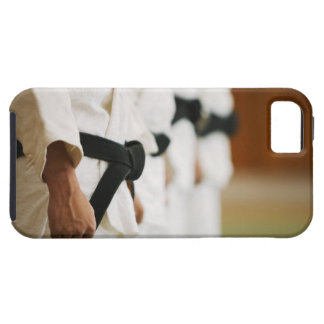 Members of a Judo Dojo Lined Up iPhone 5 Cases