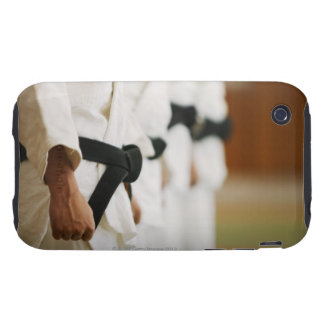 Members of a Judo Dojo Lined Up iPhone 3 Tough Cover