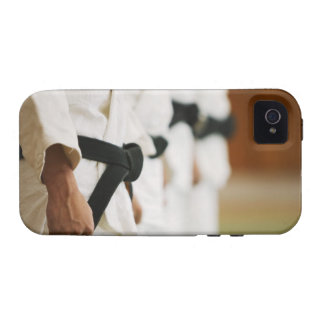 Members of a Judo Dojo Lined Up Case-Mate iPhone 4 Cover
