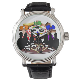 Members of TBI Raiders Wrist Watch