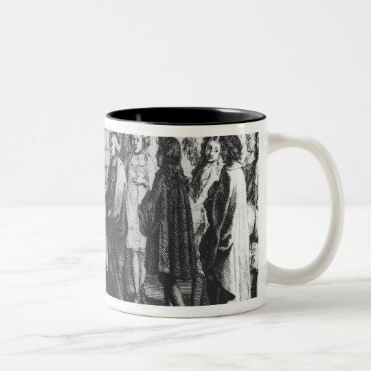 Members of the French Academy Two-Tone Coffee Mug