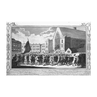 Members of the Protestant Association Canvas Print