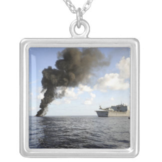 Members of the US Coast Guard Silver Plated Necklace