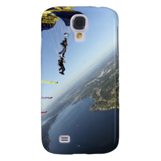 Members of the US Navy Parachute Team Galaxy S4 Case