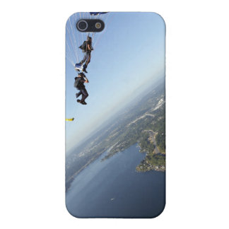 Members of the US Navy Parachute Team iPhone SE/5/5s Case