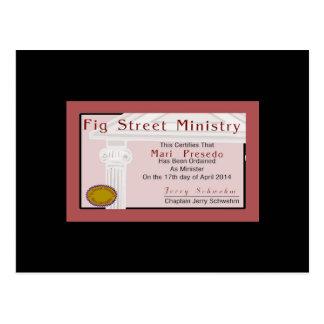 Membership Card Fig Street ministry