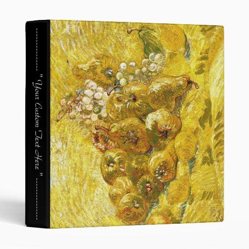 """Membrillos, limones, peras y uvas Vincent van Gogh Carpeta 1"""""""