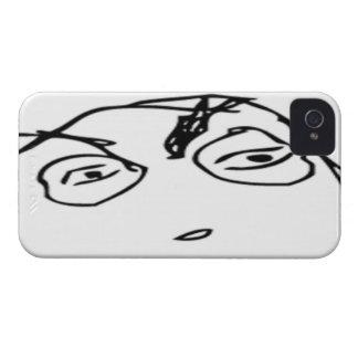 Meme cómico sospechoso carcasa para iPhone 4 de Case-Mate