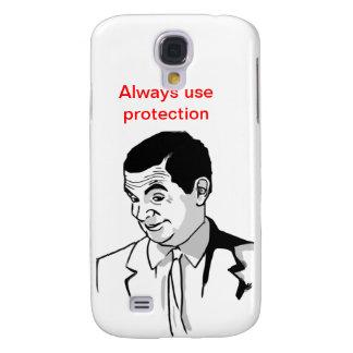 Meme de Sr. Bean Funda Para Samsung Galaxy S4
