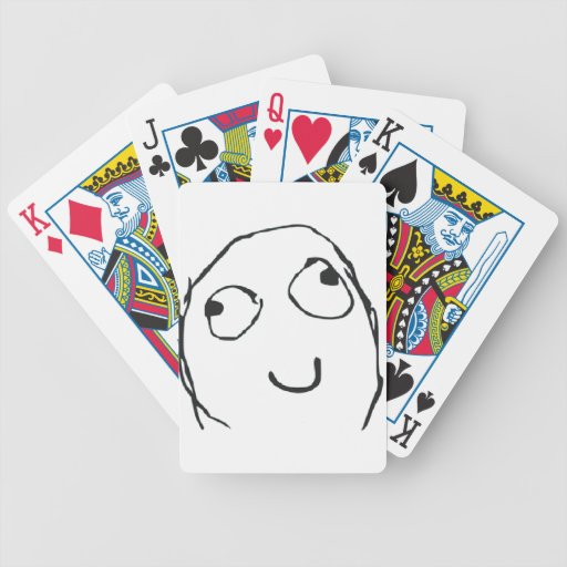 MEME DERP BICYCLE POKER CARDS