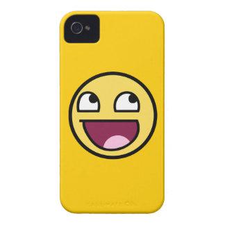 meme divertido sonriente impresionante de la rabia Case-Mate iPhone 4 cárcasas