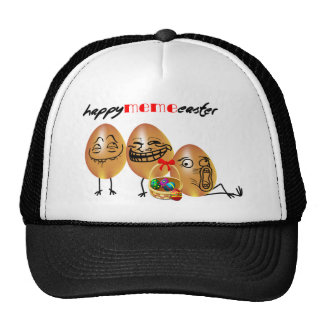 Meme eggs Happy Easter Trucker Hat