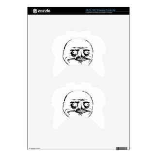 Meme Face Xbox 360 Controller Decal