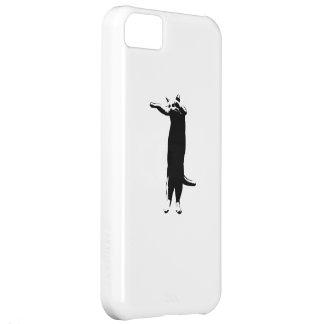 Meme largo del gato funda para iPhone 5C