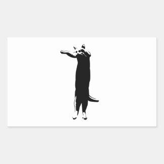 Meme largo del gato rectangular altavoz