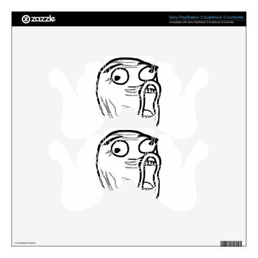 Meme Lol Mando PS3 Calcomanías