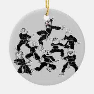 meme ninja gang ceramic ornament