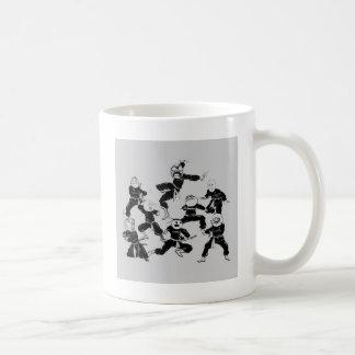 meme ninja gang coffee mug