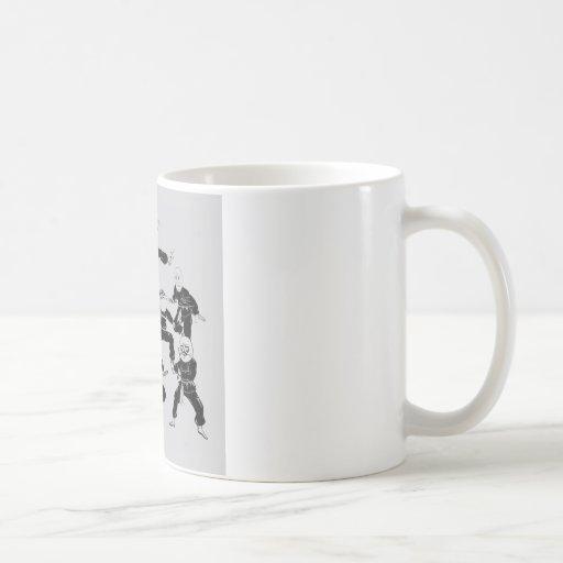 meme ninja gang mug