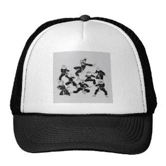 meme ninja gang trucker hat