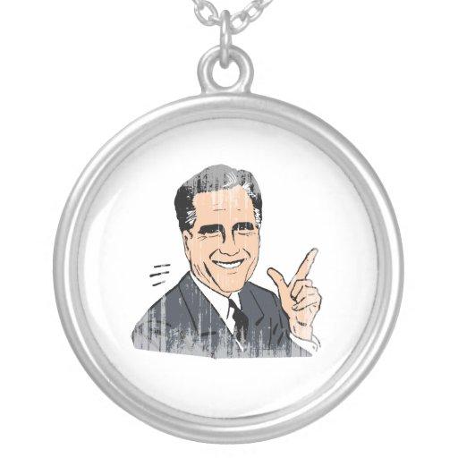 Meme Romney Colgante Redondo