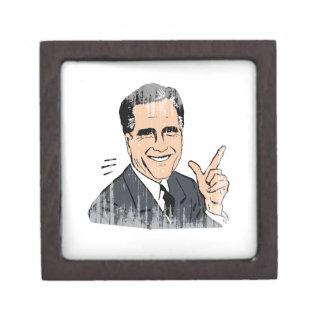 Meme Romney Cajas De Recuerdo De Calidad