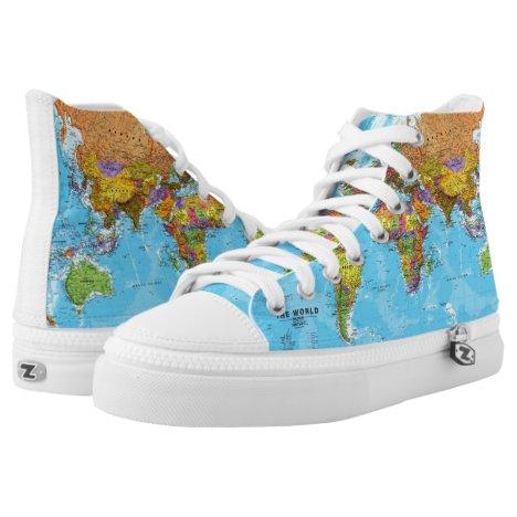 Meme Sneakers geography teacher. School