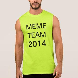 meme team 2014 sleeveless tee