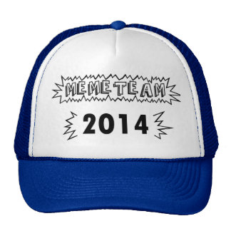 MEME TEAM 2014 TRUCKER HAT