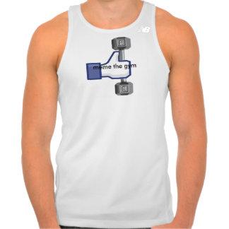 meme the gym vest tank top