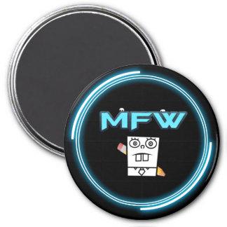 Memefull World logo magnet