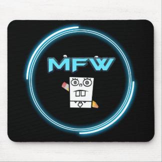 Memefull World logo mouse pad